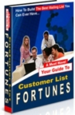 Product picture Customer List Fortunes